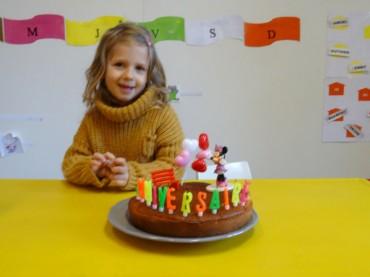 Joyeux anniversaire Noélie ! – 4 ans