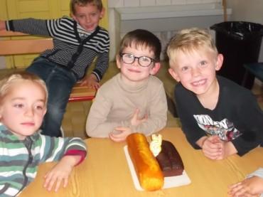 Joyeux Anniversaire Romane, Lucas et Mathias !