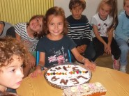 Léna, Robin, Raphaël et Tom ont fêté leurs 5 ans !