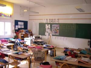 Photos intérieures de l'école